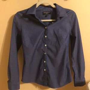 Tops - Banana Republic blue button down shirt 4p